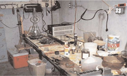 Clandestine Meth Lab Basement